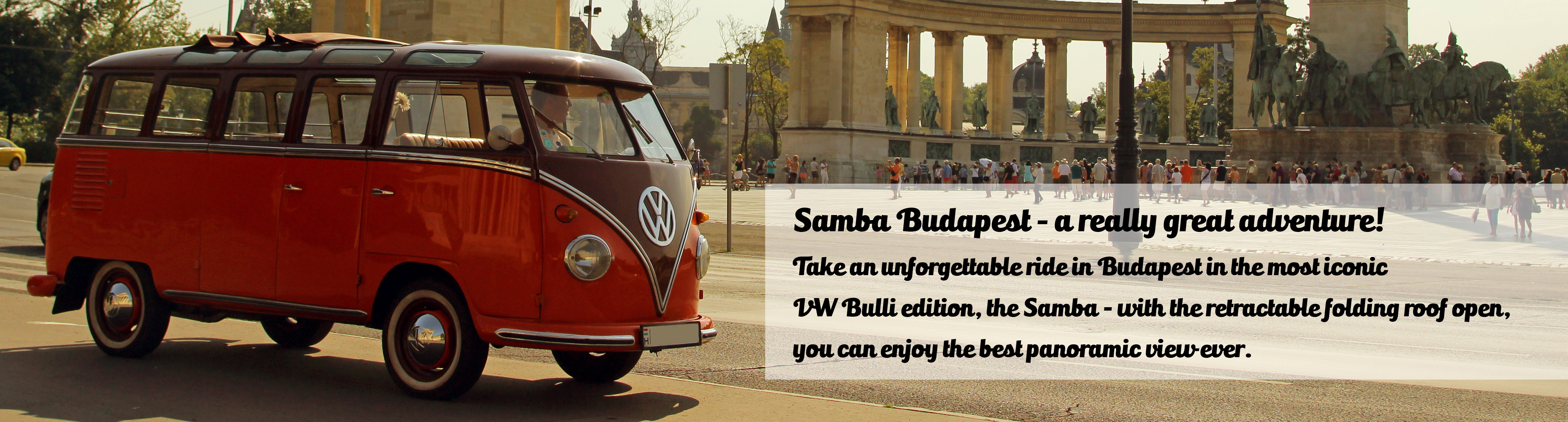 The VW T1 - called: Bulli - Samba-Version